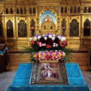Всенощное бдение в Всесвятском храме