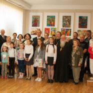 Открытие выставки XVI Международного конкурса детских рисунков «Славянский родник-2019» (24-05-2019)
