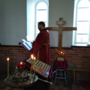 Šventoji Liturgija lietuvių kalba  Kretingos šv. Eleuterijaus koplyčioje (2018-04-21)