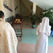 Молебен в больнице паллиативного ухода, г. Клайпеда (18-10-2018)